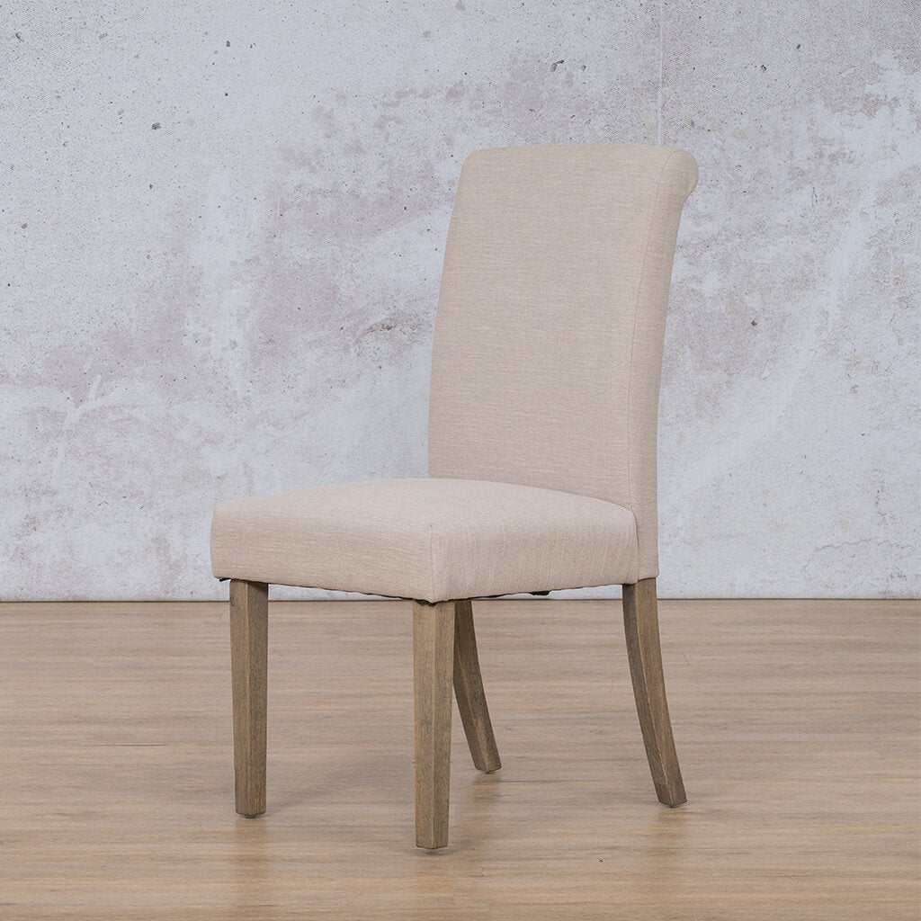 Baron Dining Chair | Add On | Antique Grey | Leather Gallery