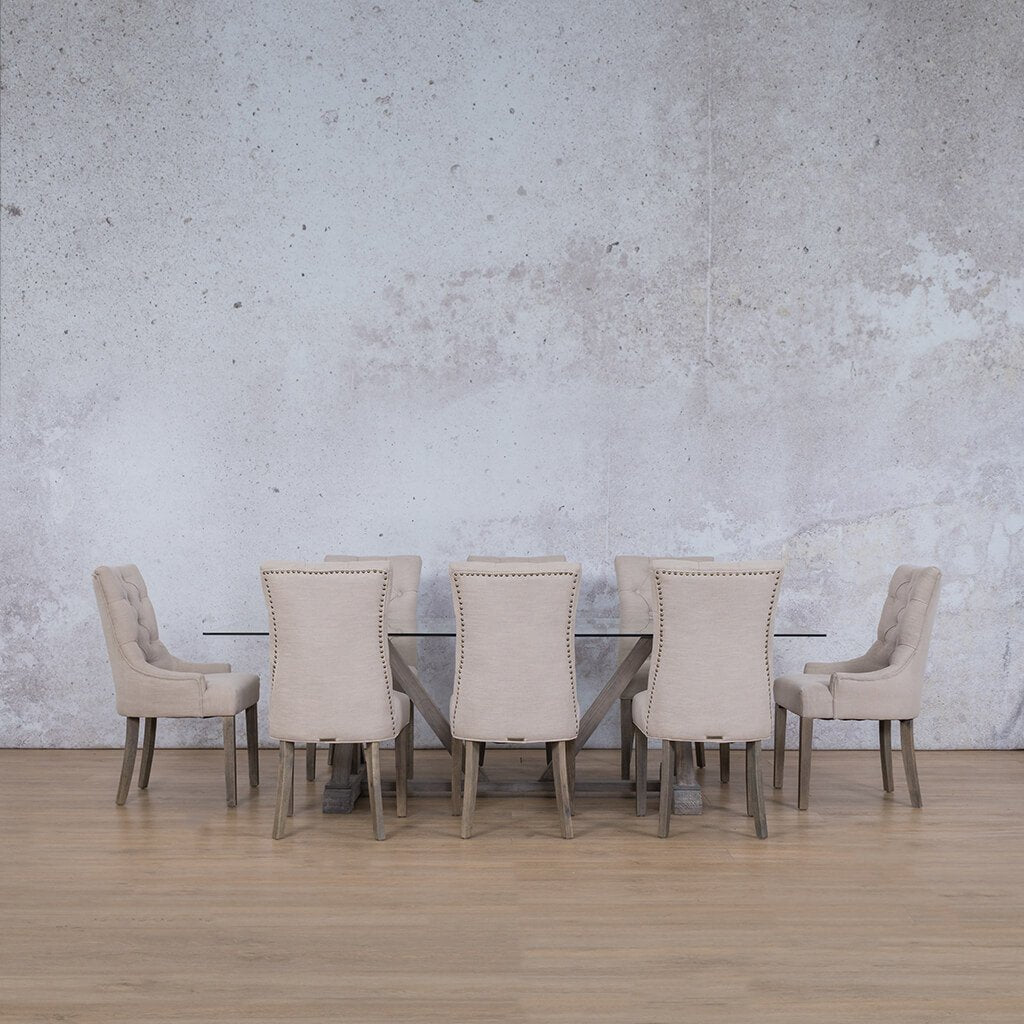 Berkeley & Duchess 9 Piece Dining Set