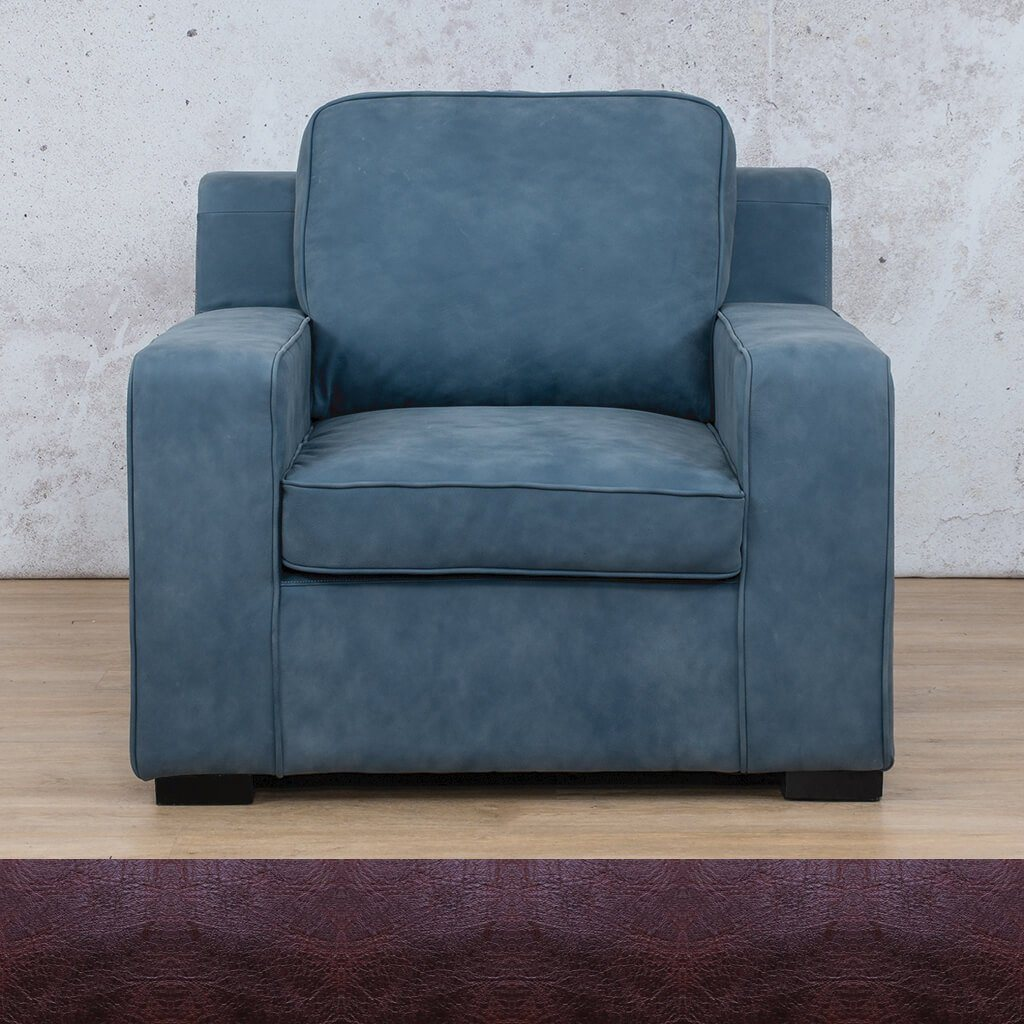 Arizona 1 Seater Leather Sofa