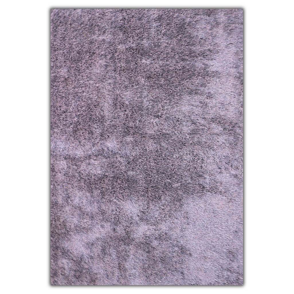 Silver Shaggy Odyssey Rug | Leather Gallery