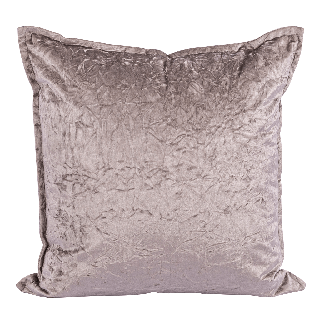 Bewitched Feather Grey Cushion | Leather Gallery