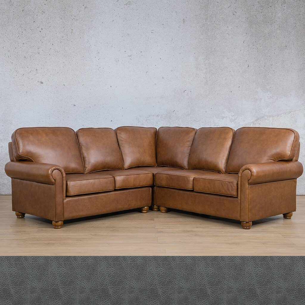 Salisbury Leather Corner Couch | L-Sectional 5 Seater | Czar Pecan-S | Couches For Sale | Leather Gallery CouchesSalisbury Leather Corner Couch | L-Sectional 5 Seater | Bedlam Blue Night | Couches For Sale | Leather Gallery Couches