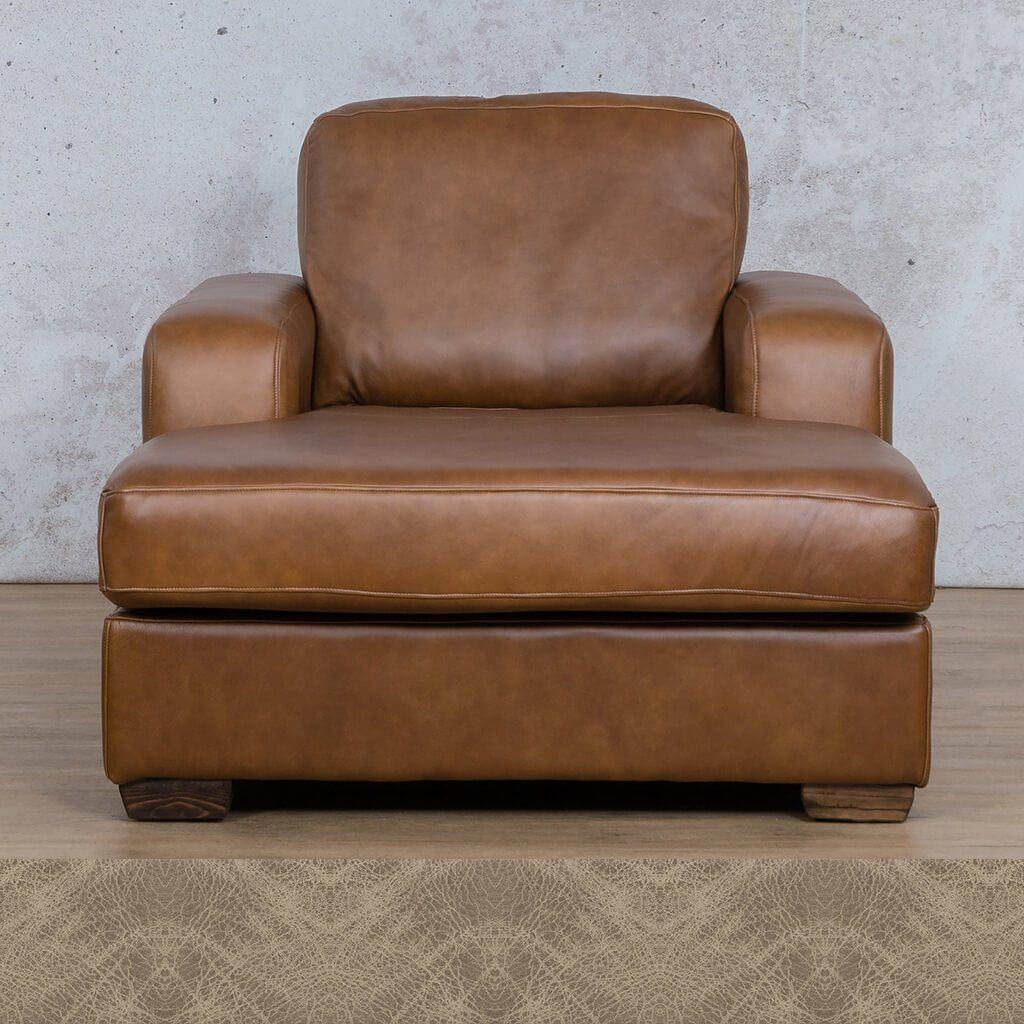 Starnford Leather Corner Couch | 2 Arm Chaise  | Bedlam Taupe | Couches For Sale | Leather Gallery Couches