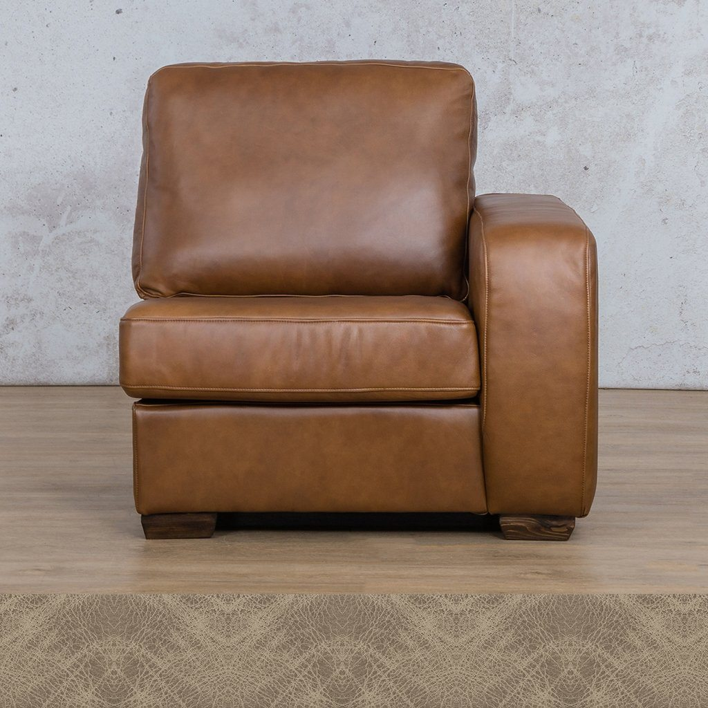 Stanford Leather 1 Seater Left Arm
