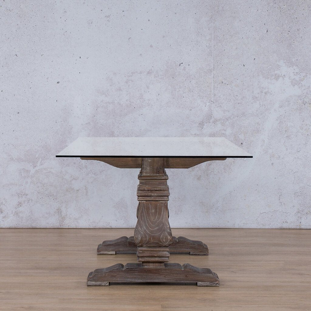 Belmont Glass Dining Table - 2.4m - 8 or 10 Seater