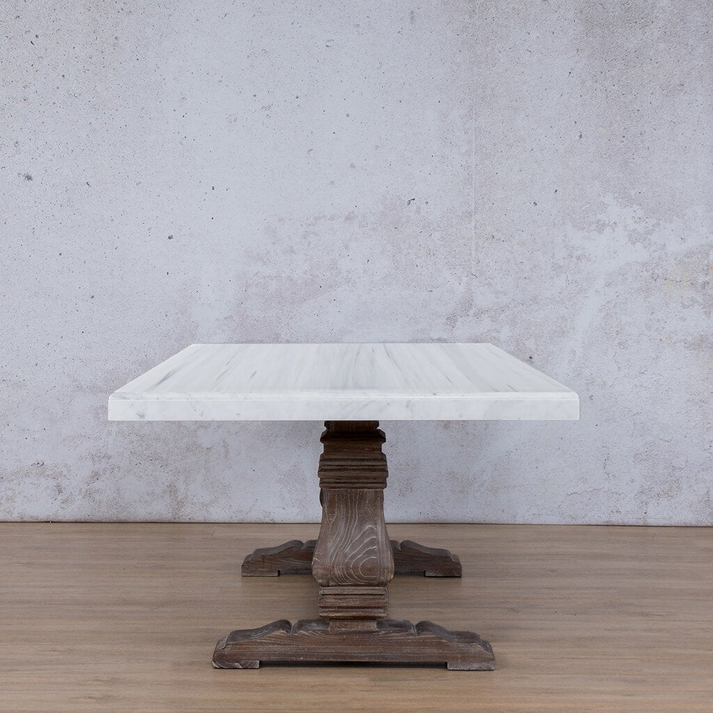 Belmont Marble Dining Table - 2.4m - 8 or 10 Seater