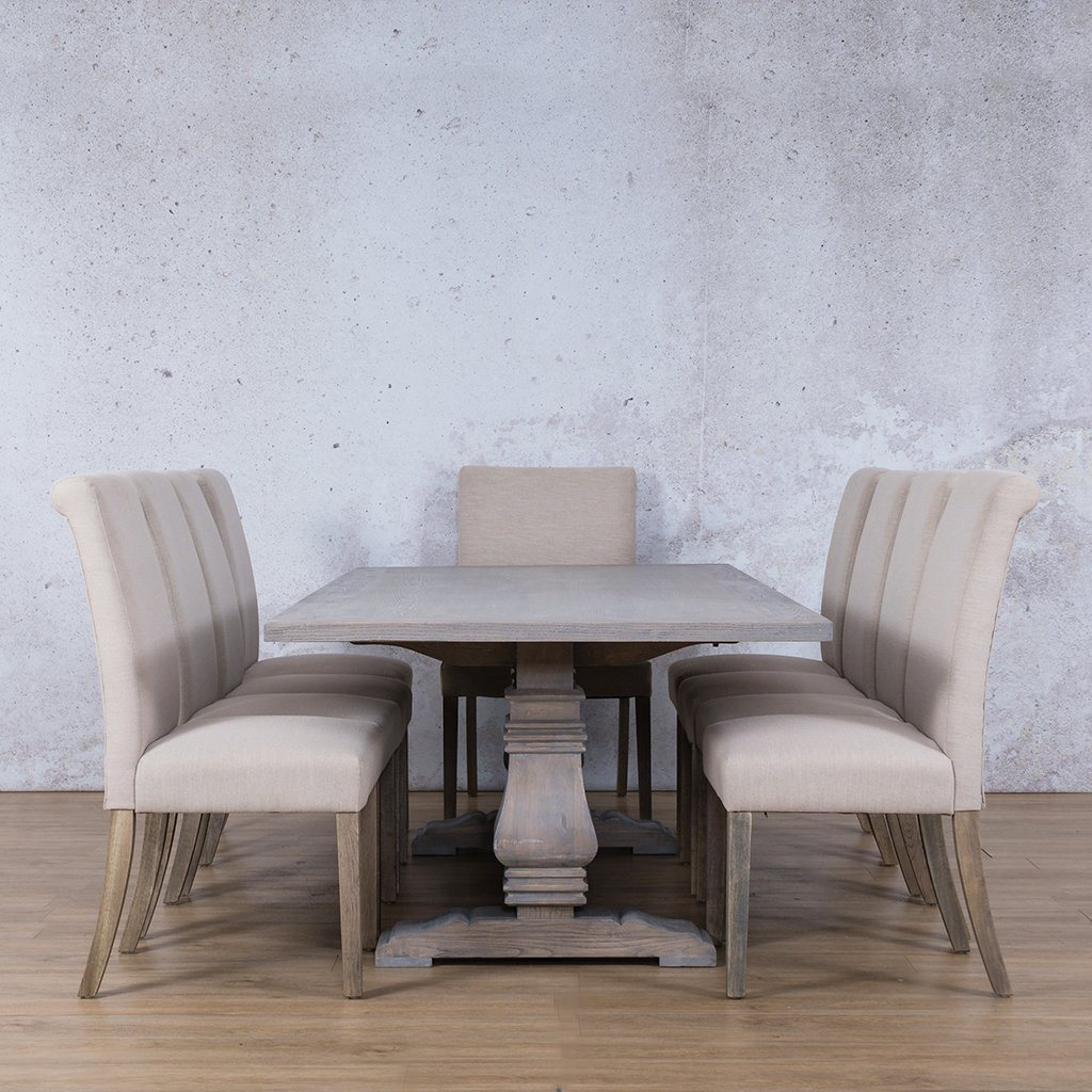 Belmont Wood Top & Baron 10 Seater Dining Set