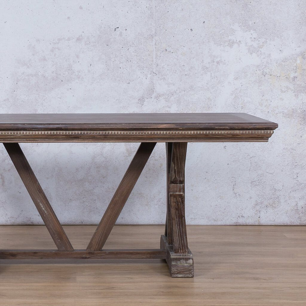 Berkeley Fluted Wood Dining Table - 2.4m - 8 or 10 Seater