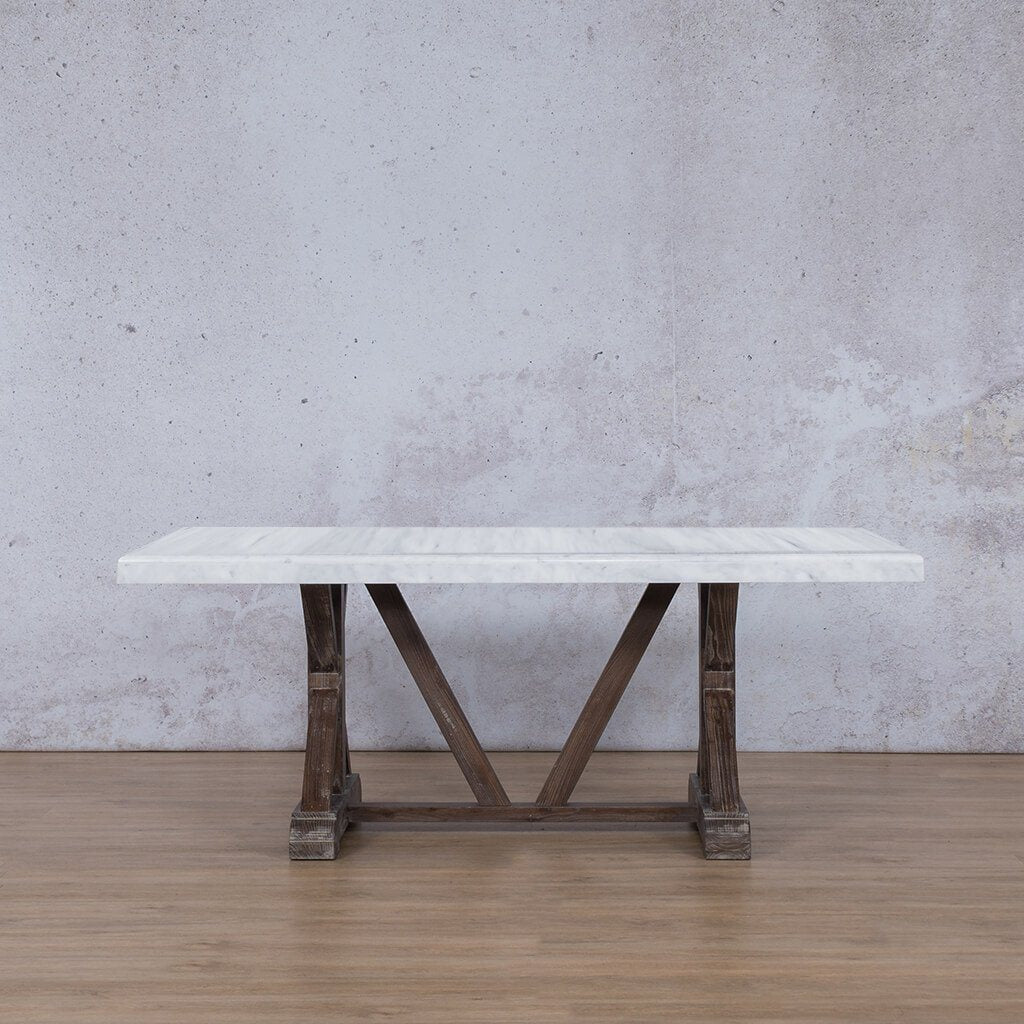 Berkeley Marble Dining Table - 1.9m - 6 Seater