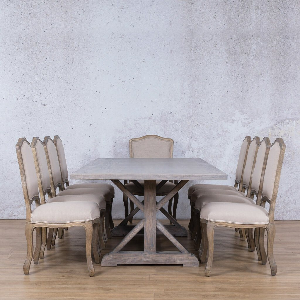 Picture of: Berkeley Duke Dining Set Dining Room Leather Gallery