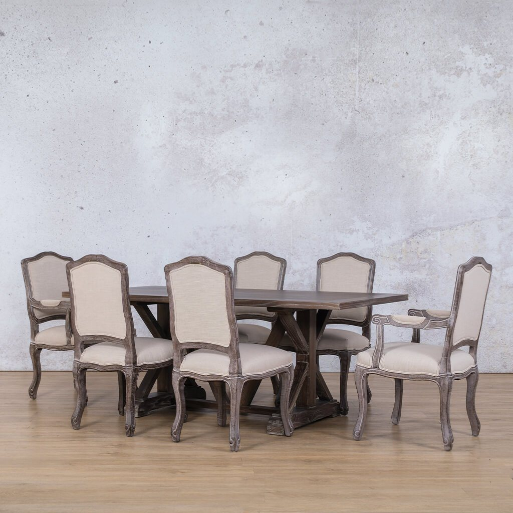 Berkeley Wood Top & Duke 6 Seater Dining Set