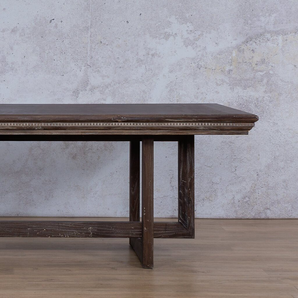Bolton Fluted Wood Dining Table - 2.4m - 8 or 10 Seater