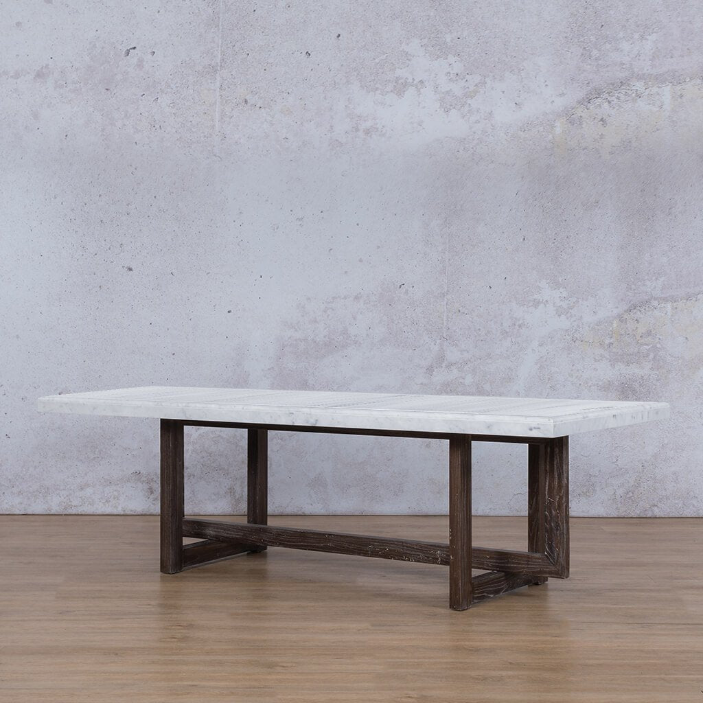 Bolton Marble Dining Table - 2.4m - 8 or 10 Seater