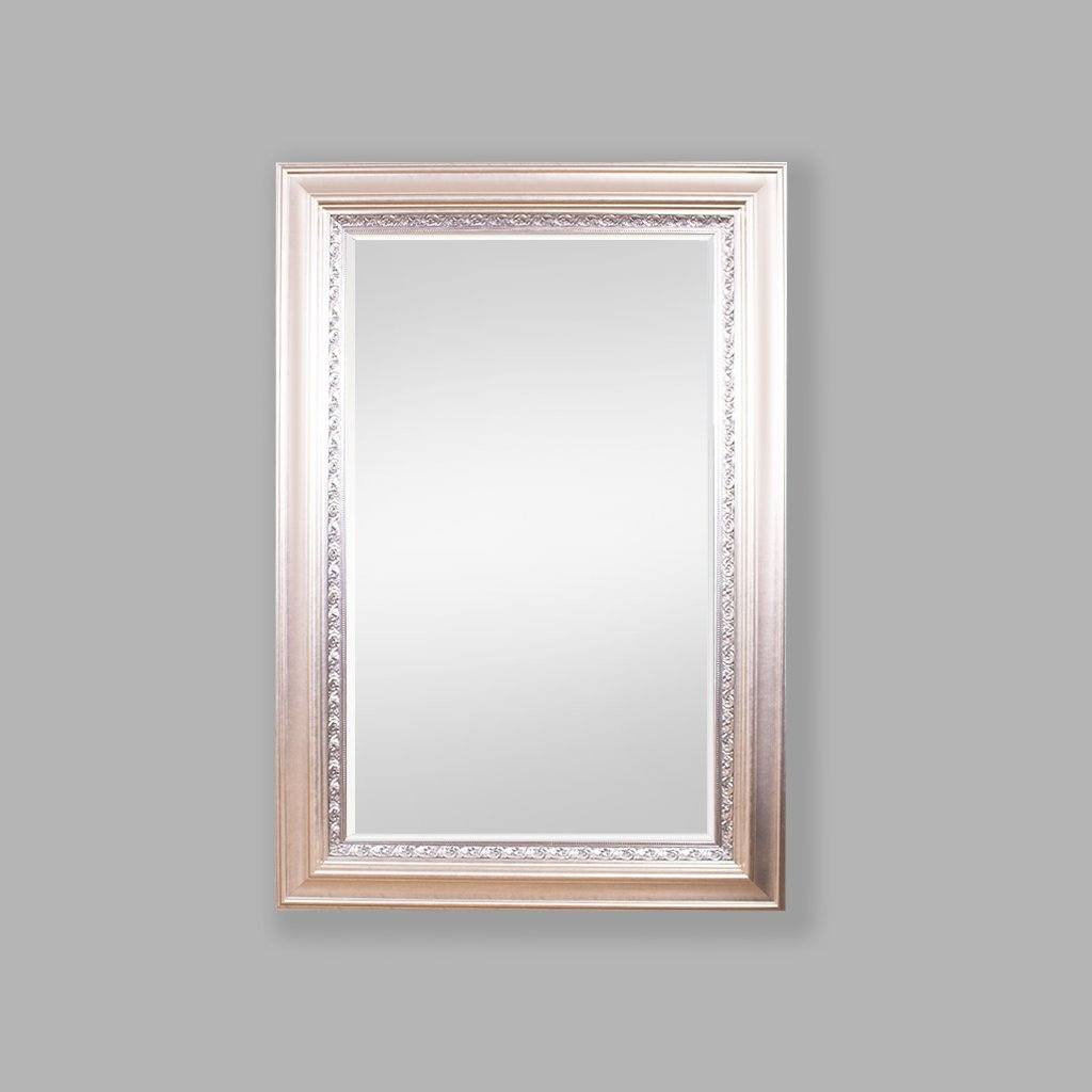 Monarch Bevelled Mirror Silver