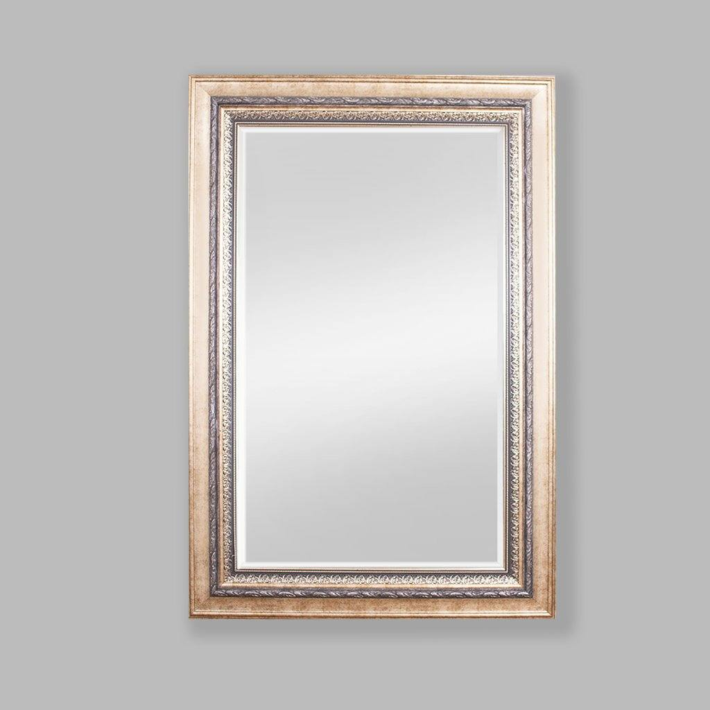 Elizabeth Antique Bevelled Mirror Gold