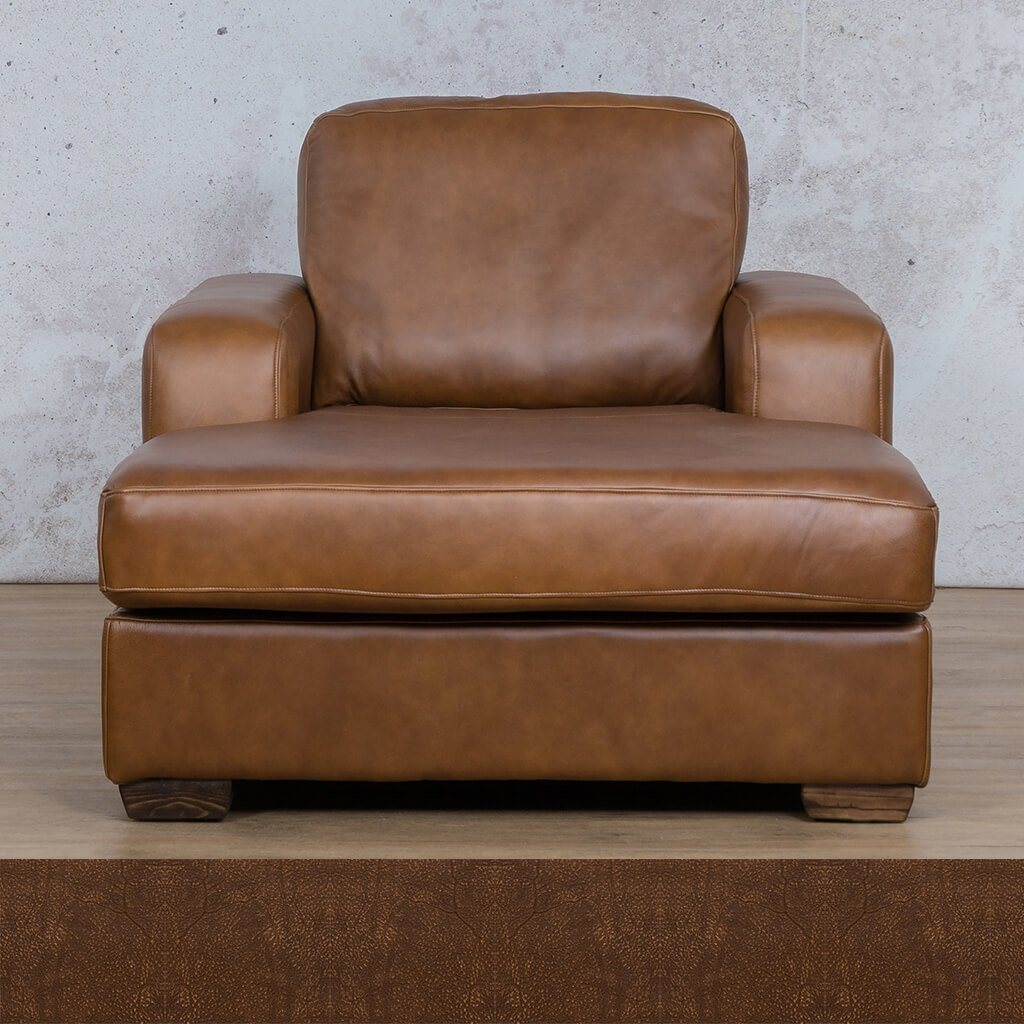 Starnford Leather Corner Couch | 2 Arm Chaise  | Zambezi Brown-S | Couches For Sale | Leather Gallery Couches