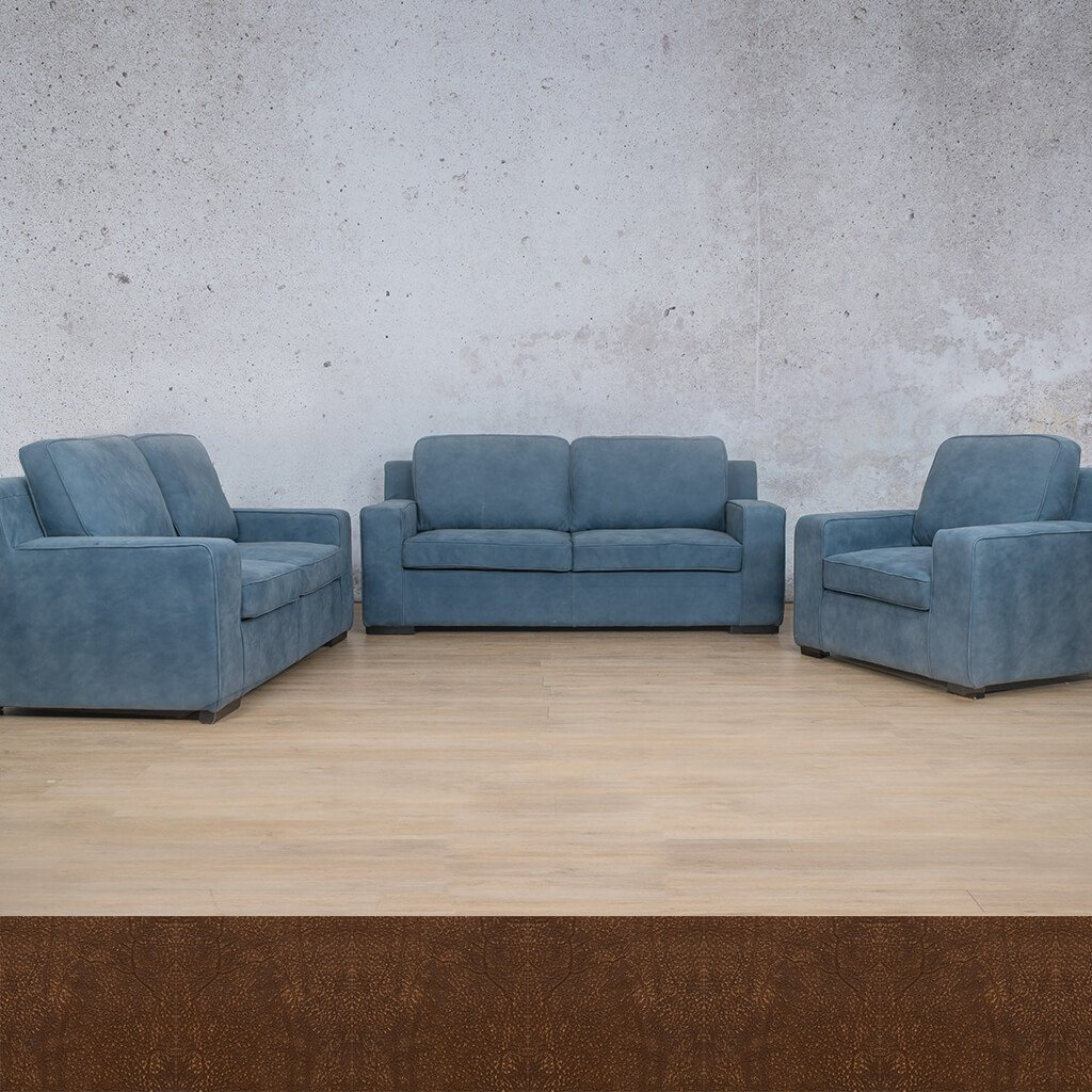 Arizona Leather Couches | 3-2-1 Seater Couches | Couches for Sale | Buffed Fudge | Leather Gallery Couches