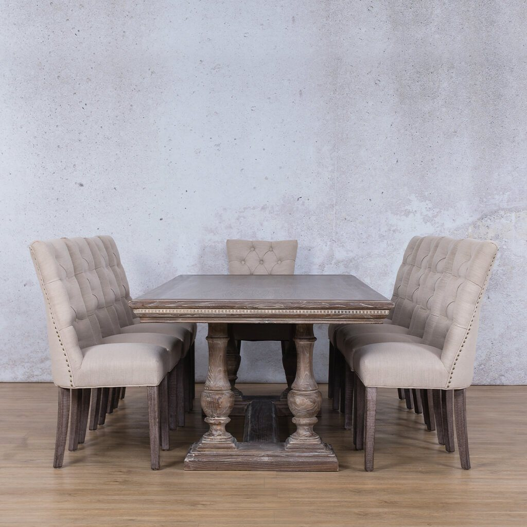Picture of: Charlotte Duchess Dining Set Dining Room Leather Gallery