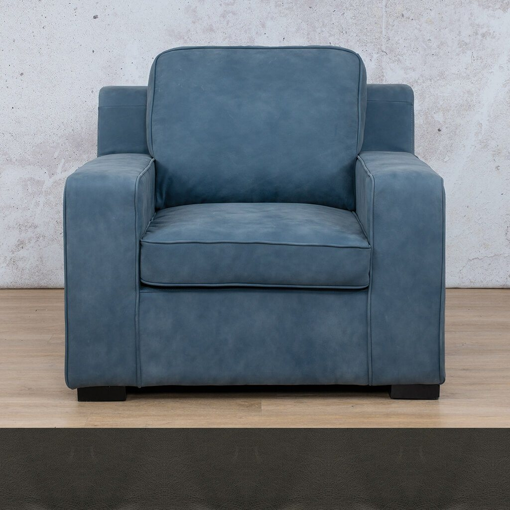 Arizona Leather | 1 Seater | Czar Anthracite | Leather Gallery