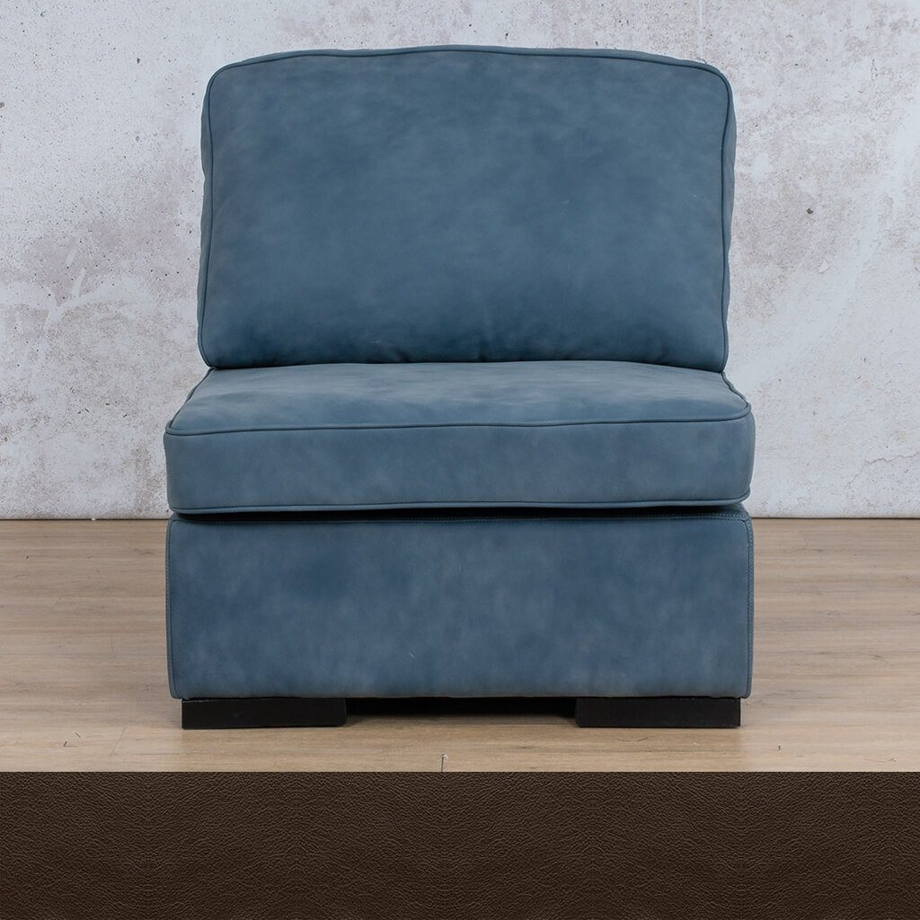 Arizona Leather Armless Chair