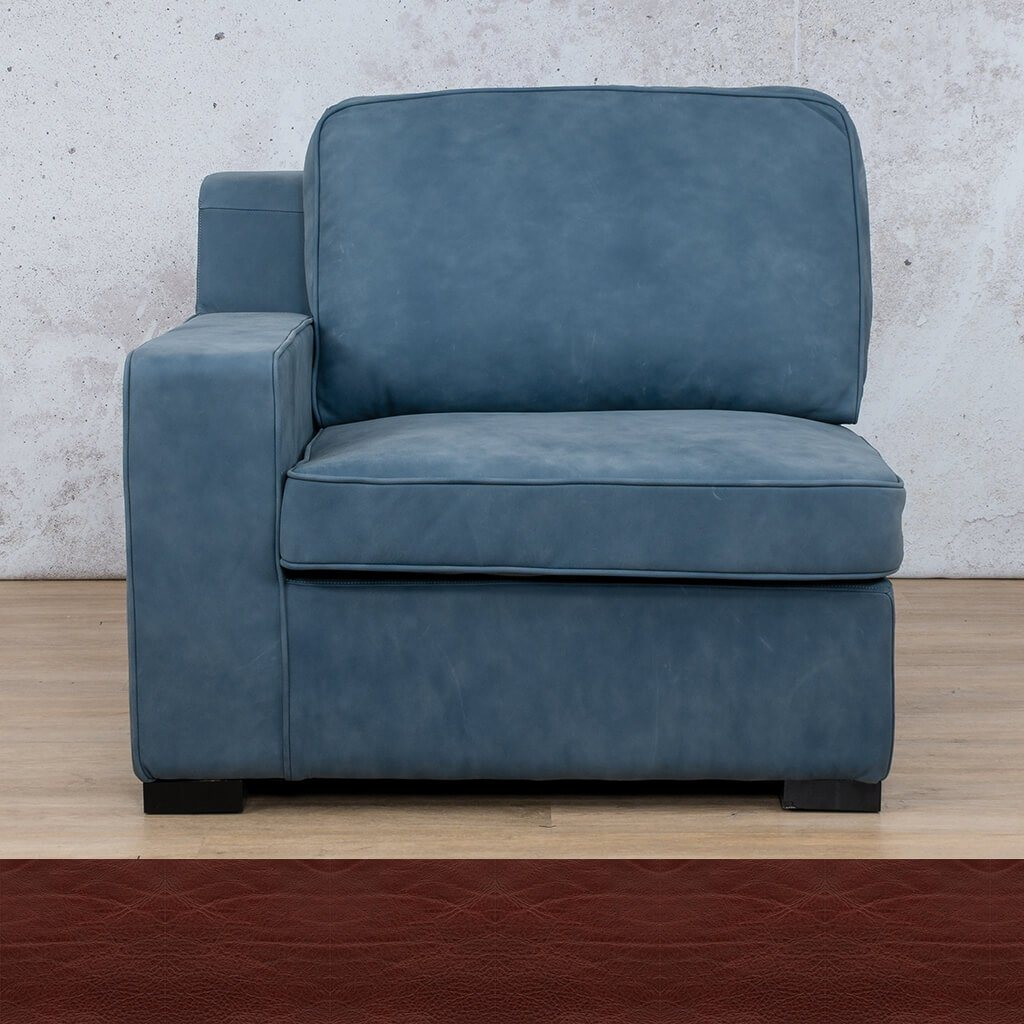 Arizona Leather 1 Seater Right Arm