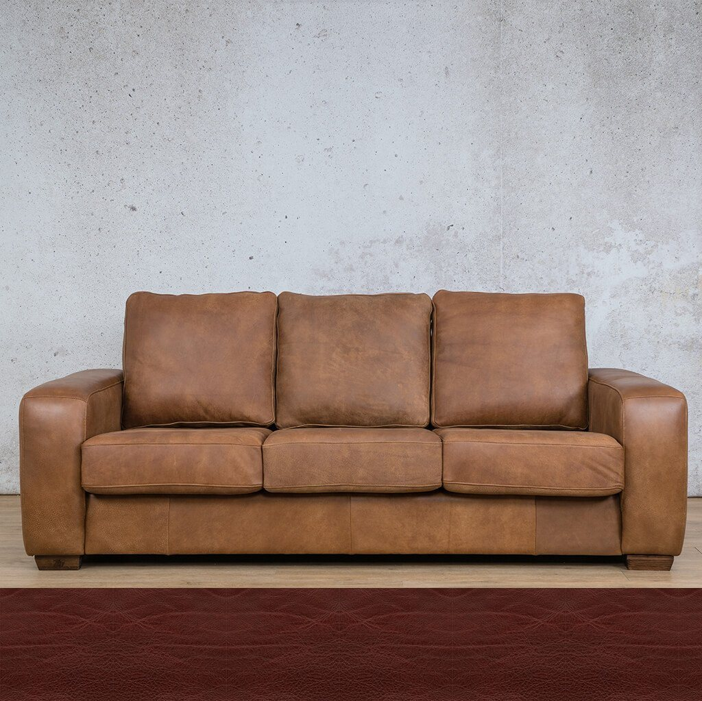 Stanford 3 Seater Leather Sofa