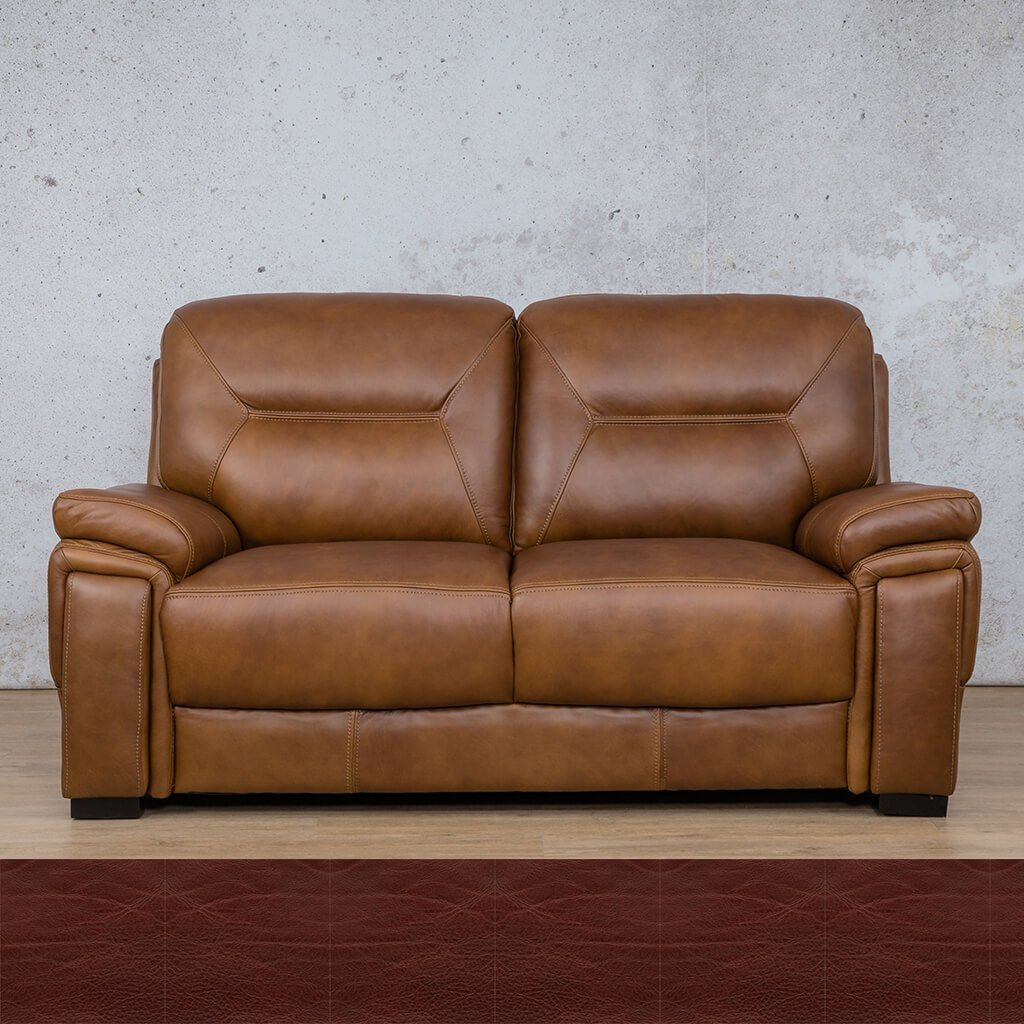 San Lorenze 2 Seater Leather Sofa