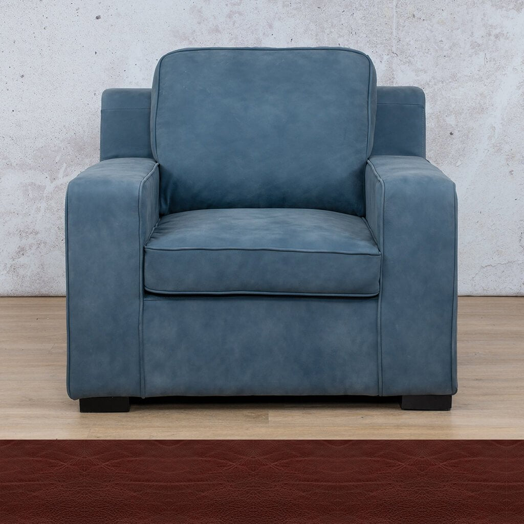 Arizona Leather | 1 Seater | Czar Ruby | Leather Gallery
