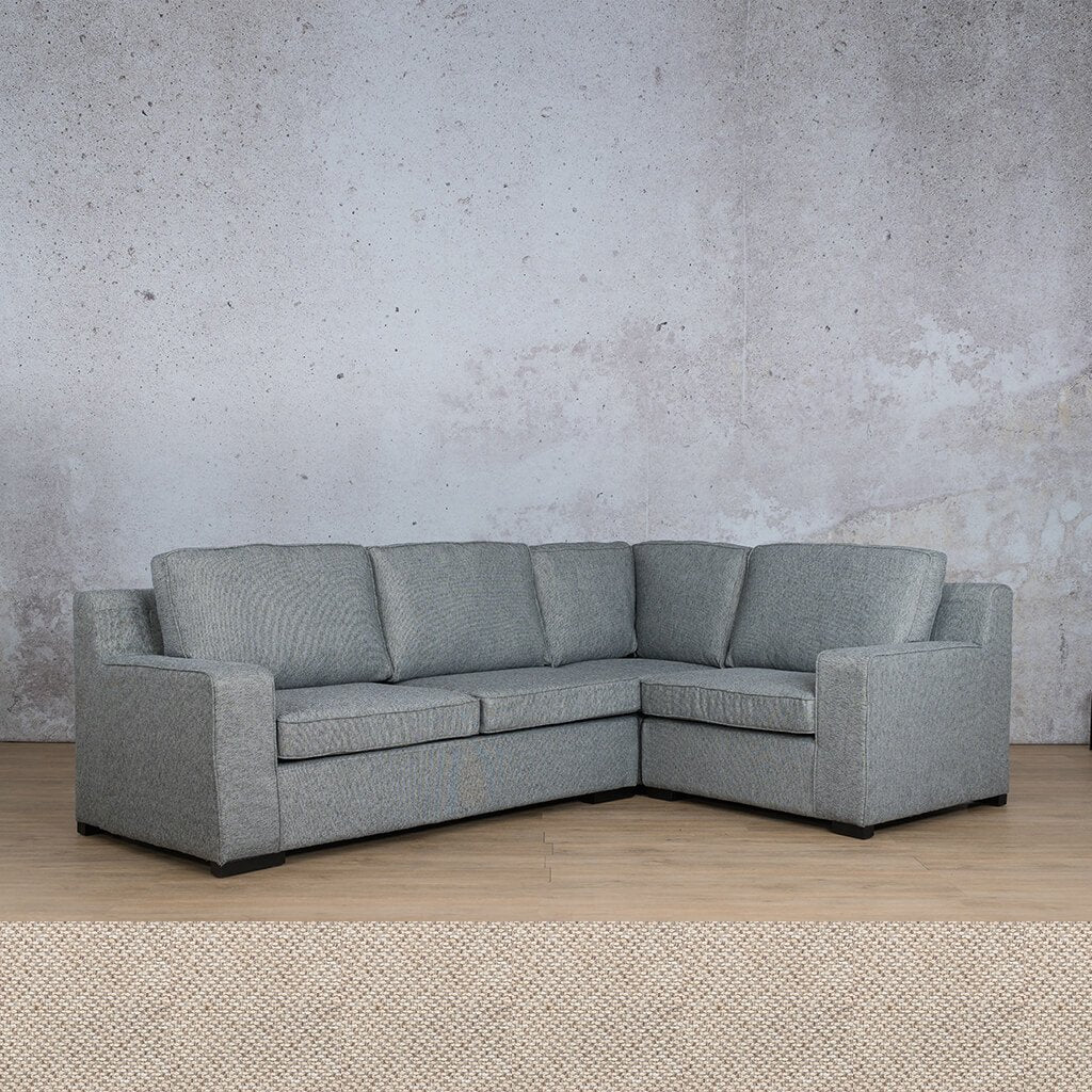 Arizona Fabric Couch | L-Sectional 4 Seater RHF | Dapple | Couches For Sale | Leather Gallery Couches