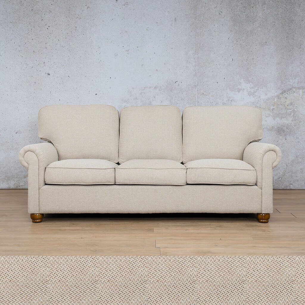 Salisbury Fabric Couch | 3 seater couch | Dapple | Couches for Sale | Leather Gallery Couches