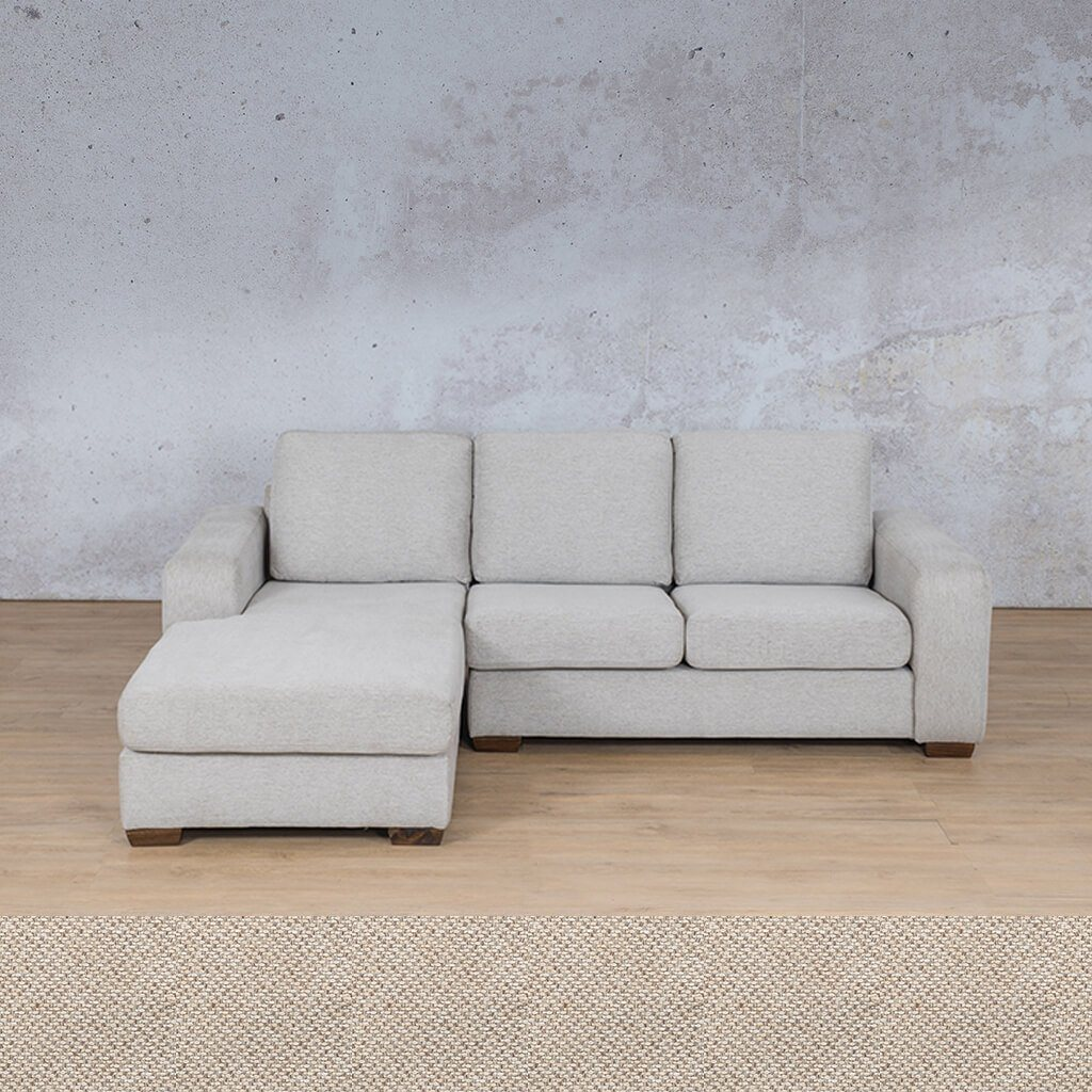 Stanford Fabric Corner Couch | Sofa Chaise-LHF | Dapple | Couches For Sale | Leather Gallery Couches