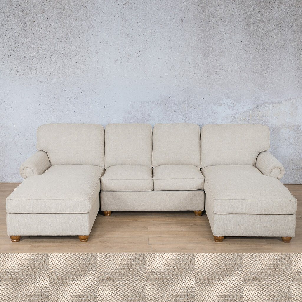 Salisbury Fabric Corner Couch | Customisable Sectional | Dapple | Couches For Sale | Leather Gallery Couches