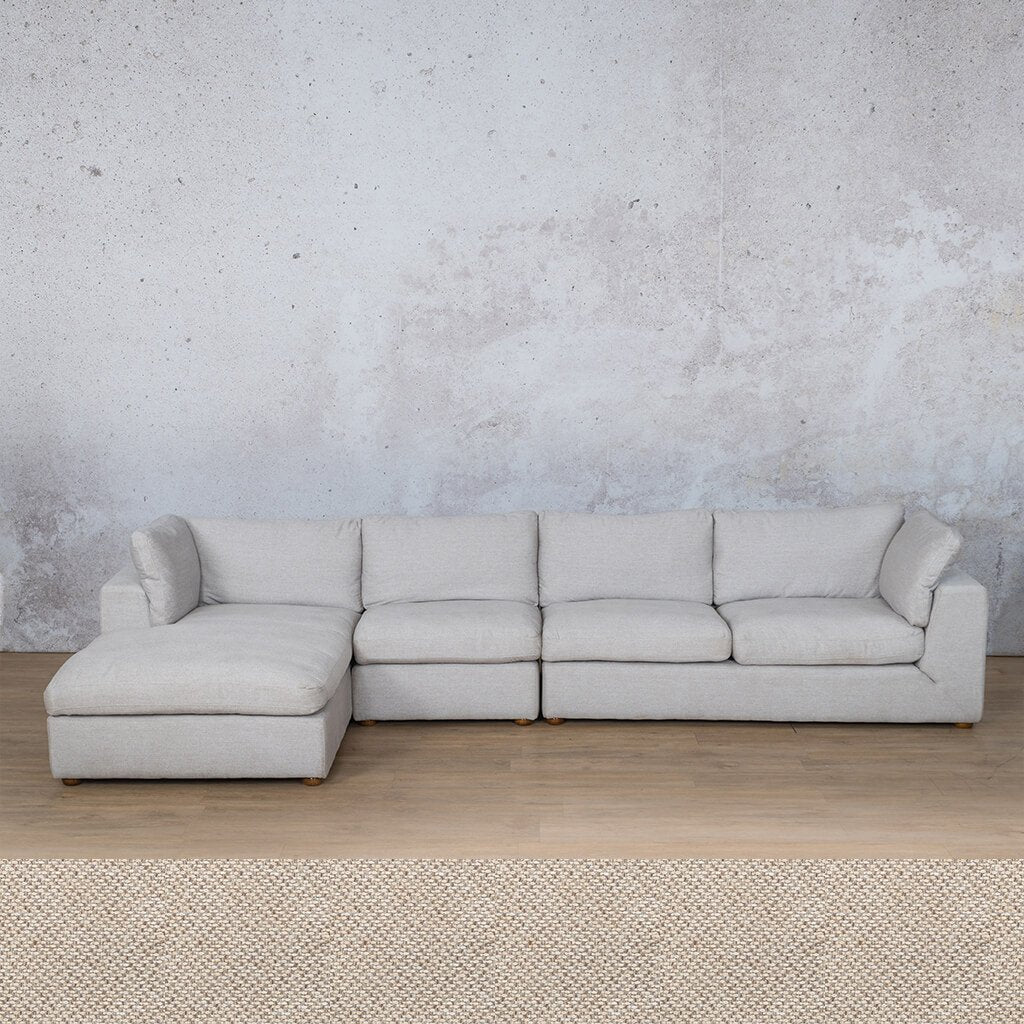 Skye Fabric Corner Couch | Chaise Modular Sectional-LHF | Dapple | Couches For Sale | Leather Gallery Couches