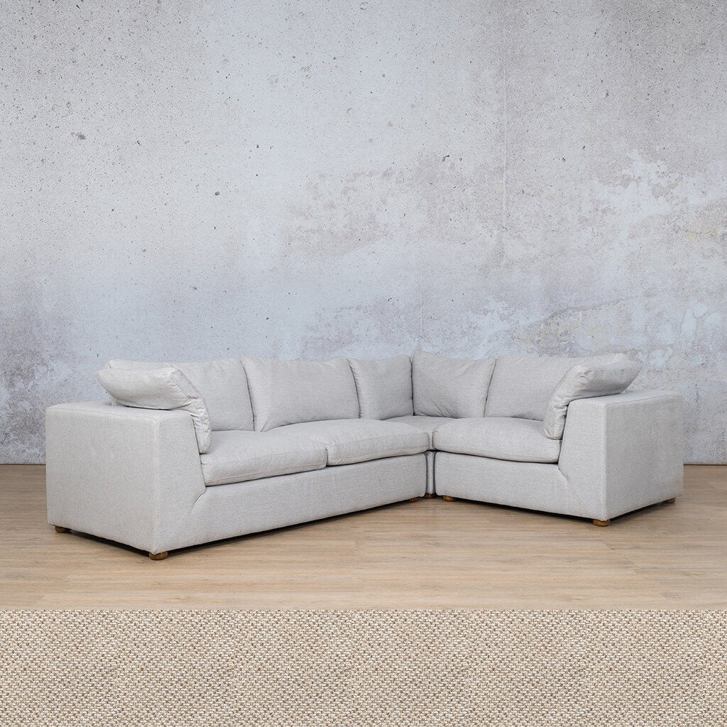Skye Fabric L-Sectional 4 Seater - RHF