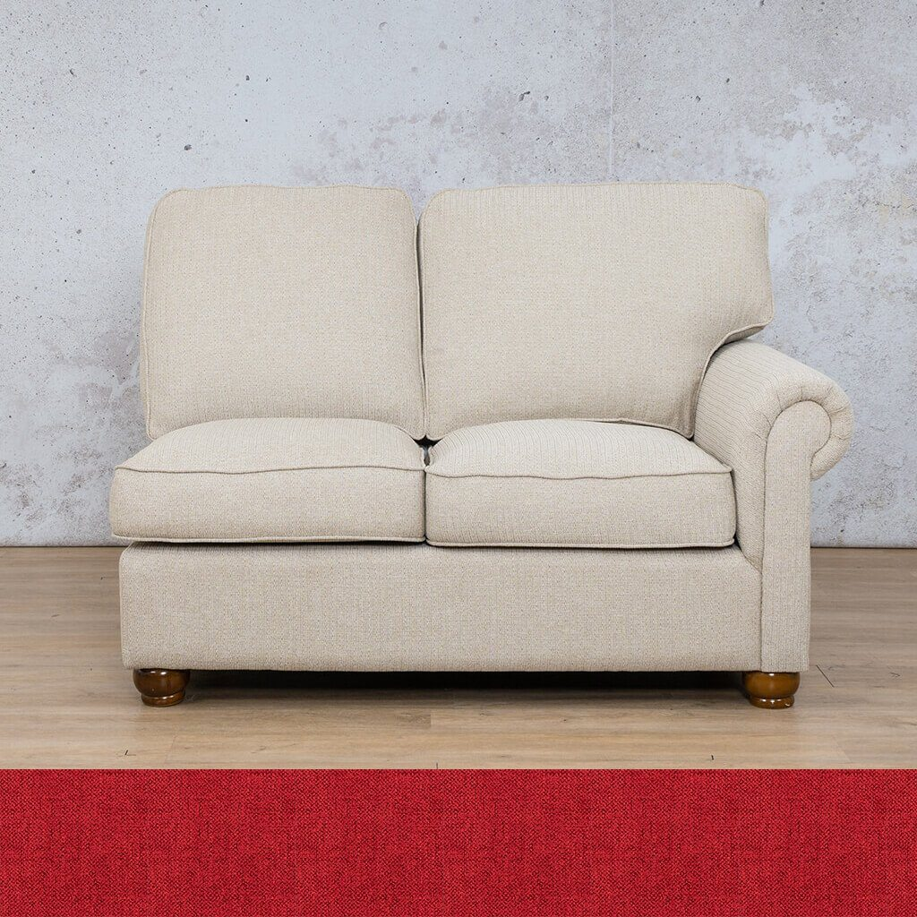 Salisbury Fabric 2 Seater Left Arm