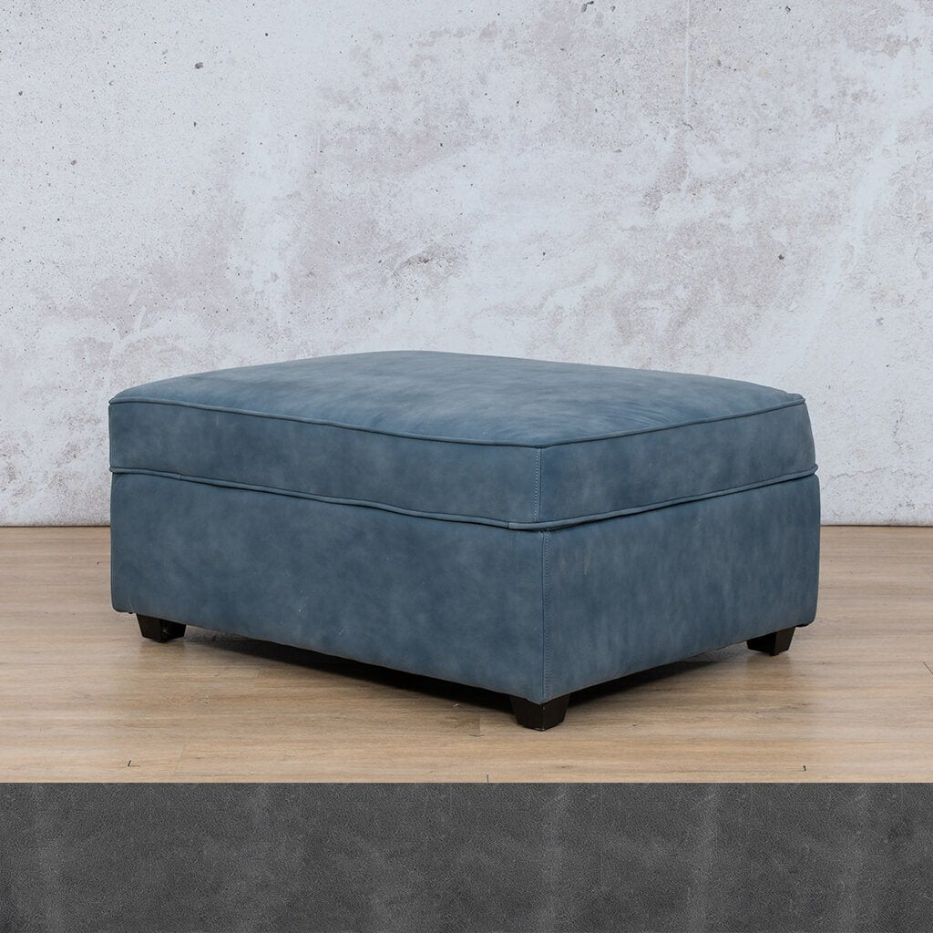 Arizona Leather Ottoman
