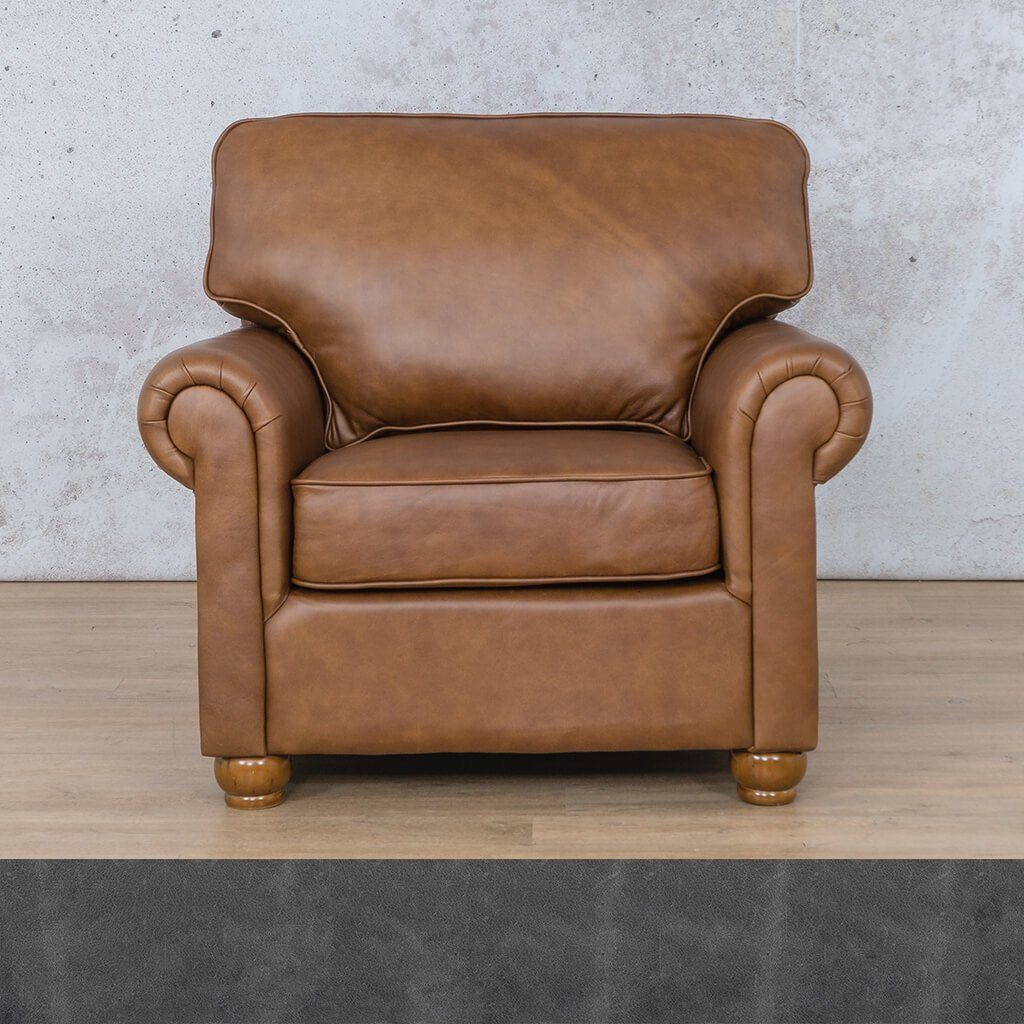 Salisbury Leather 1 Seater