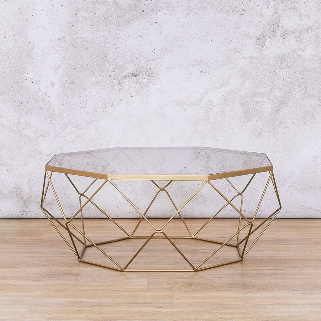 Coffee Table | Empire  | Leather Gallery