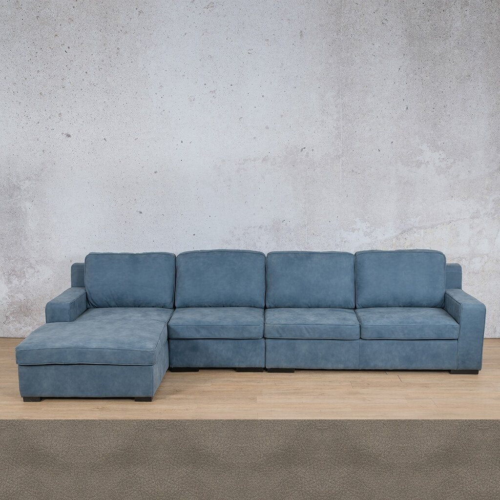 Arizona Chaise Sofa Genuine Leather Couch Leather Gallery