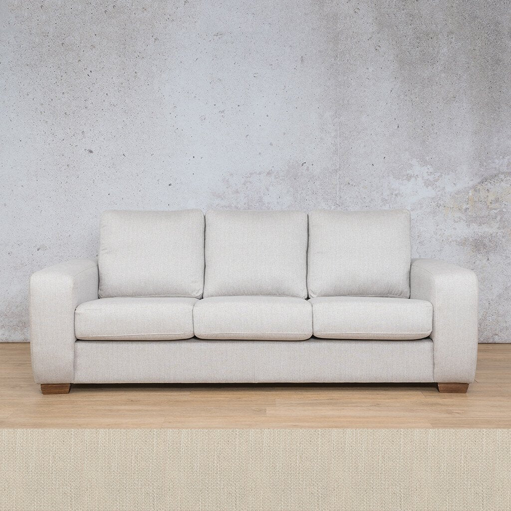Stanford Fabric Couch | 3 seater couch | Frost Cream | Couches for Sale | Leather Gallery Couches