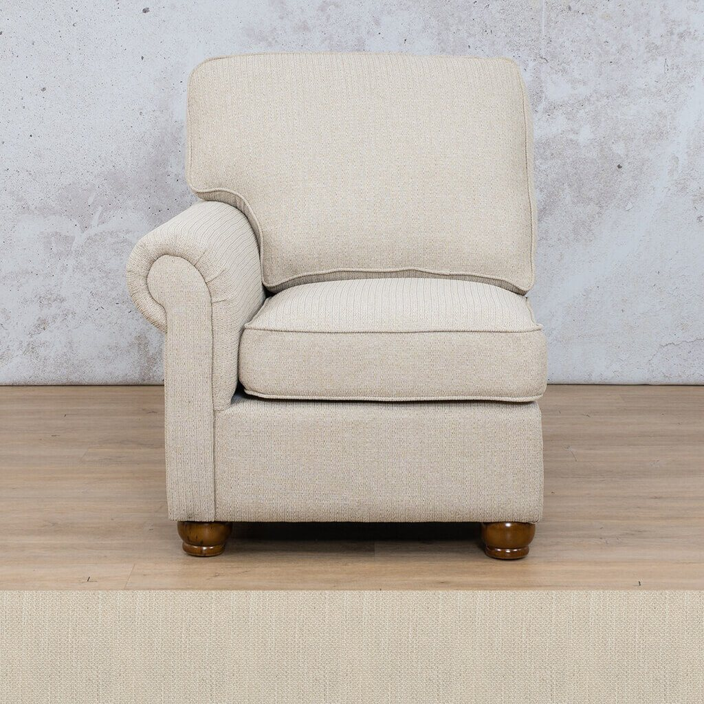Salisbury Fabric 1 Seater Right Arm