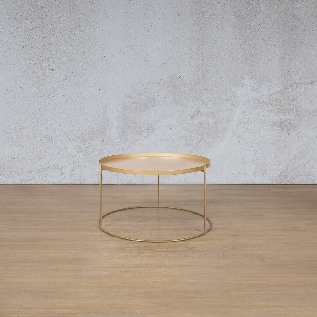 Aspen Gold Tray Nesting Coffee Table