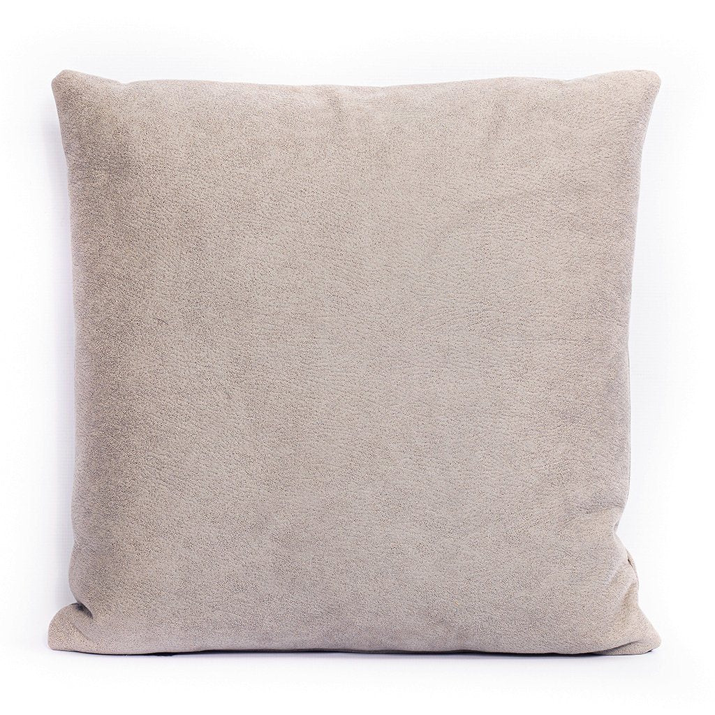 Grey | Cushion | Leather Gallery
