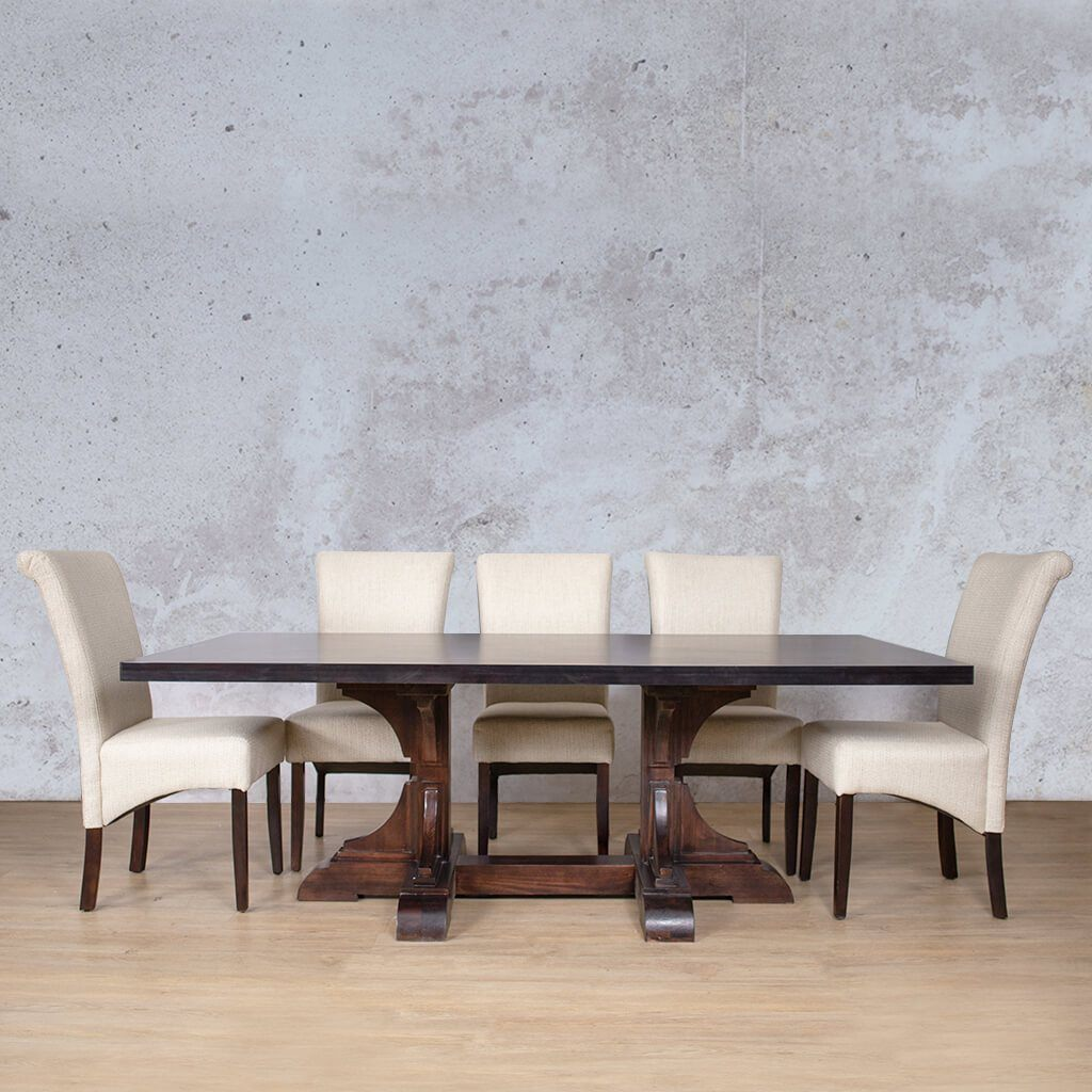 Dining | Hamilton | 8 Seater | Leather Gallery
