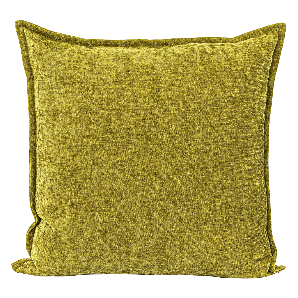 Havanna Citron Cushion | Leather Gallery