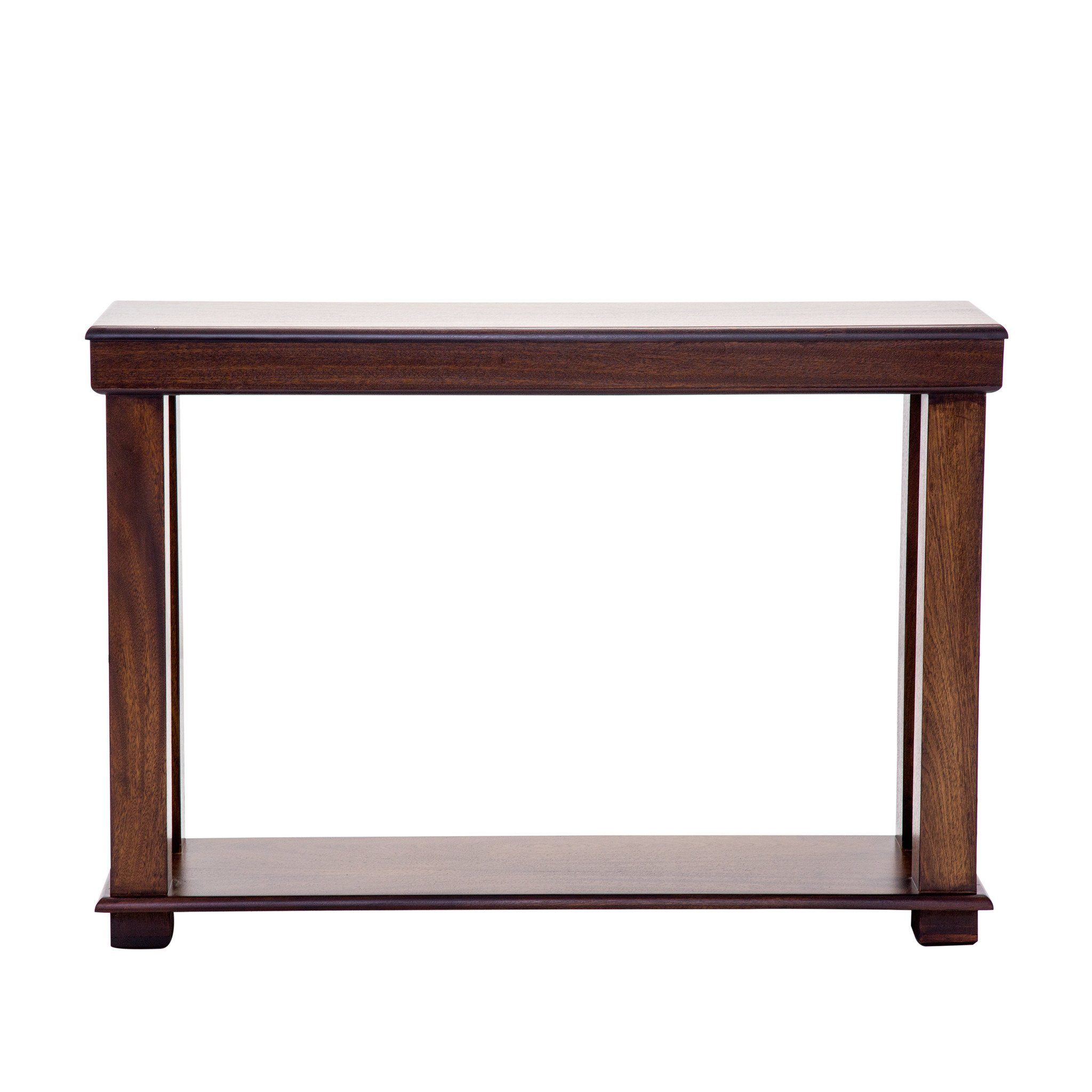 Urban Walnut Hall Table - Shelf
