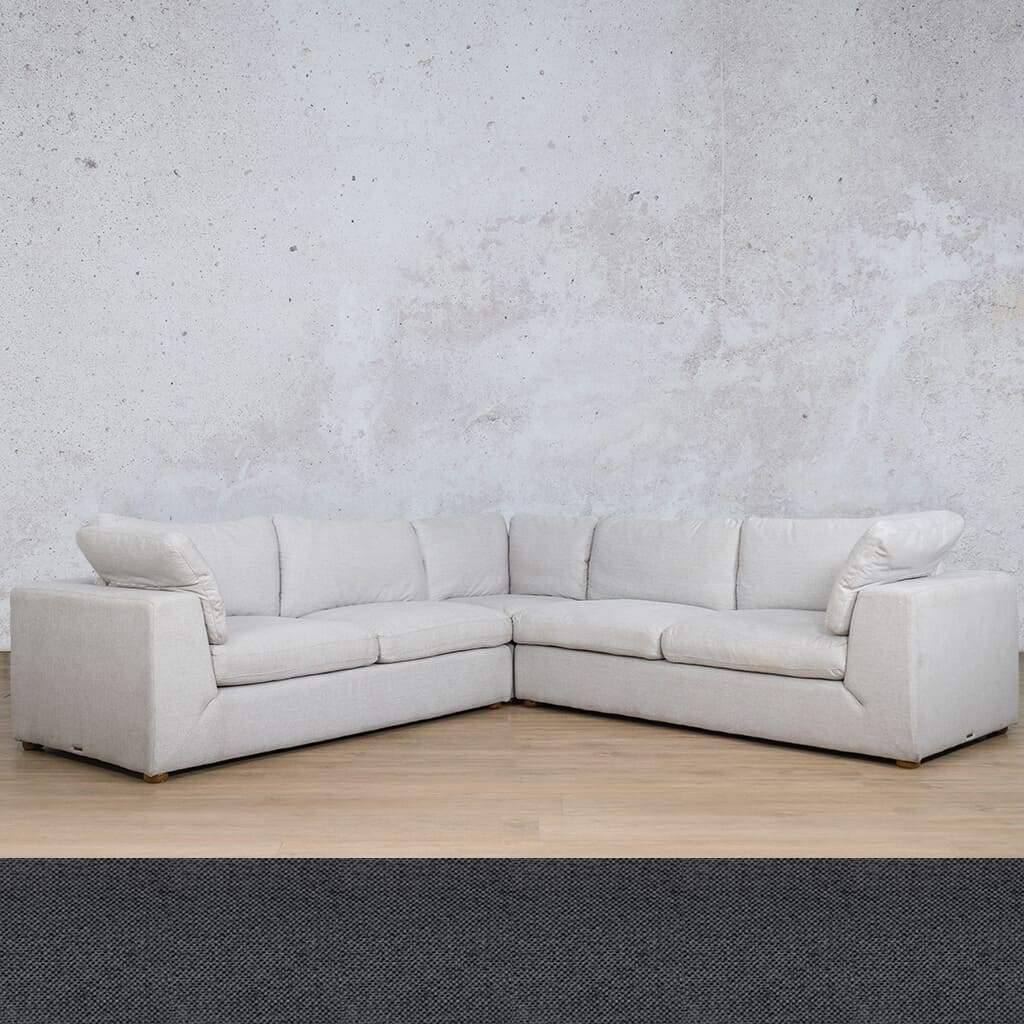 Skye Fabric L-Sectional 5 Seater