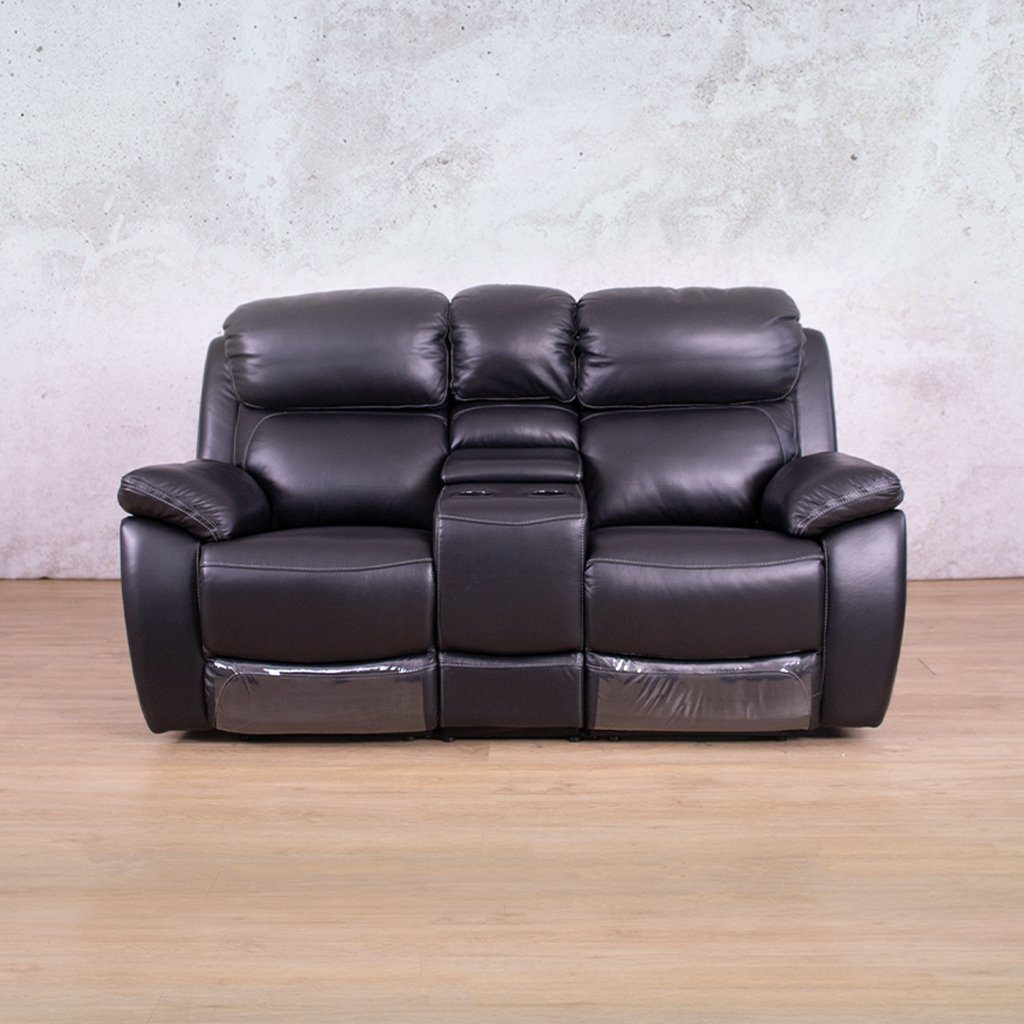 Lexington 2 Seater Leather Recliner