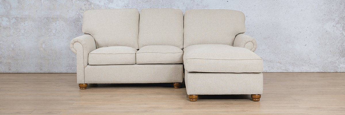 Salisbury Fabric Corner Couch | Chaise Sectional-RHF | Riverside-S | Couches For Sale | Leather Gallery Couches