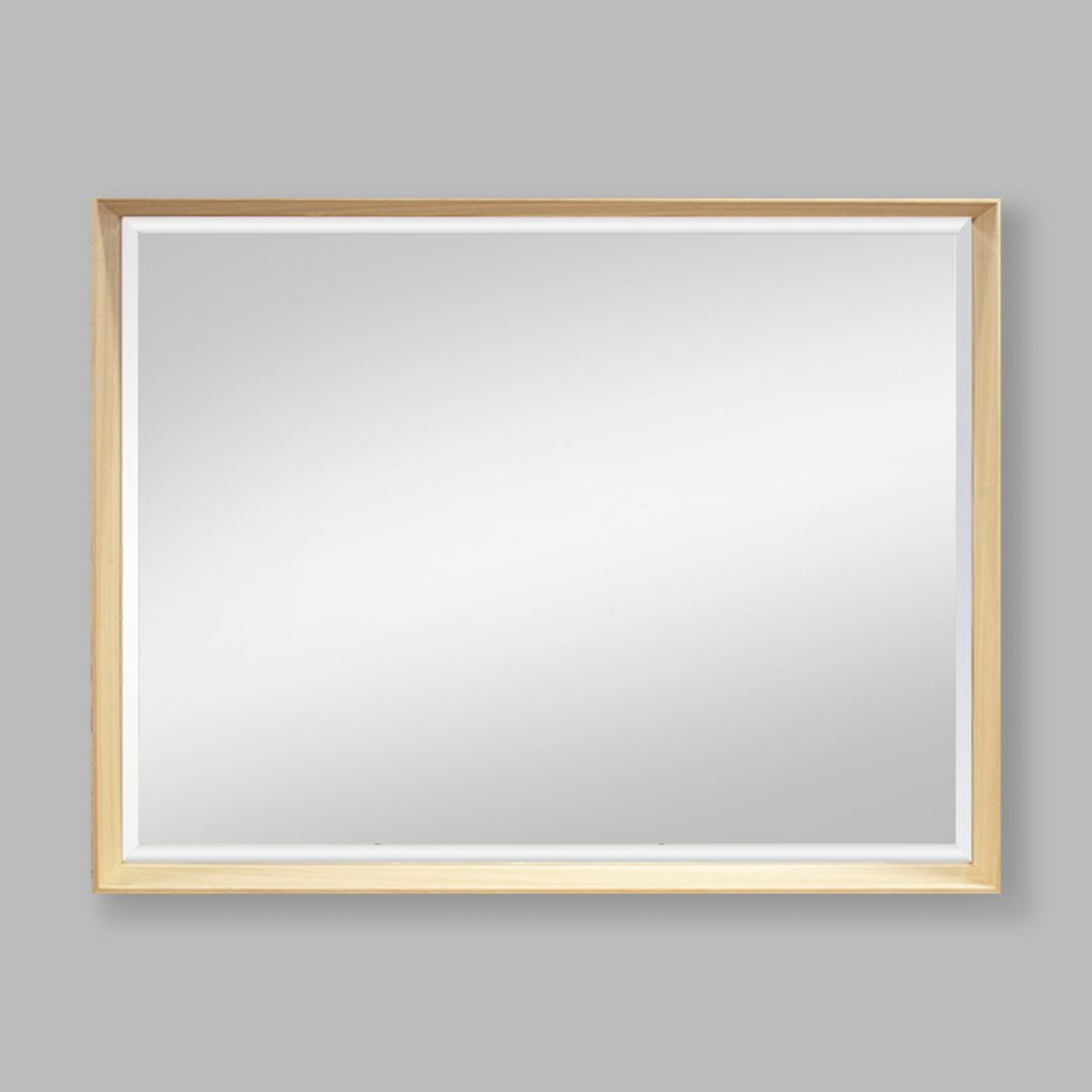 Serena Natural Wood Mirror | Leather Gallery